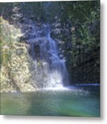 Dripping Springs Falls Metal Print