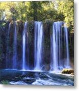 Duden Waterfall - Turkey Metal Print