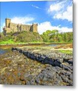 Dunvegan Castle Landscape Metal Print