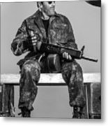 Expendables 3 2014  Metal Print