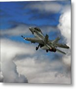 F-18 Superhornet Metal Print