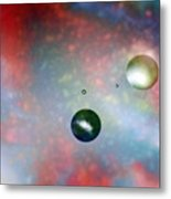 Farther Worlds Metal Print