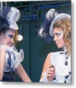 Fashion Show Catwalk Metal Print