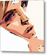 Female Expressions Xii Metal Print