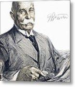 Ferdinand Von Zeppelin Metal Print