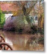 Fiddleford Mill - England Metal Print