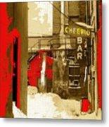 Film Noir William H. Macy Steve Buscemi Fargo 1996 Cheerio Bar Aberdeen South Dakota 1965-2008 Metal Print