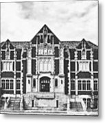 Fine Arts Building - Ball State University Metal Print
