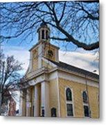 First Parish Church Beverly Ma Metal Print