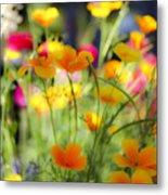 Flowering Garden Metal Print