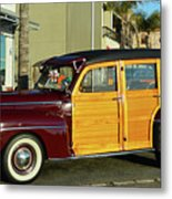 Ford California Woody Station Wagon Metal Print