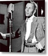 Frank Sinatra William Gottlieb Photo Liederkranz Hall New York City 1947-2015 Metal Print