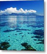 French Polynesia, Moorea Metal Print