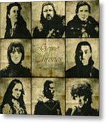 Game Of Thrones. House Stark. Metal Print