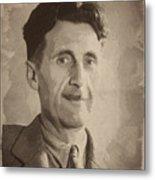 George Orwell 2 Metal Print