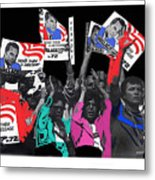 George Wallace For President Supporters Democratic Nat'l Convention Miami Beach Florida 1972-2013 Metal Print
