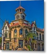 Gilroy's Old City Hall Metal Print