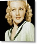 Ginger Rogers, Legend Metal Print