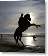 Horseback Riding Metal Print