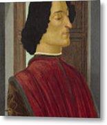 Giuliano De' Medici Metal Print