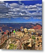 Grand Canyon #  4 - Mather Point Overlook Metal Print