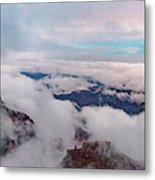 Grand Canyon Above The Clouds Metal Print