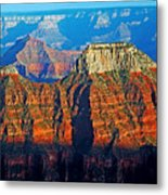 Grand Canyon National Park - Sunset On North Rim  Metal Print