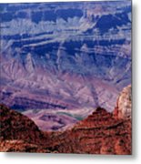 Grand Canyon View Metal Print