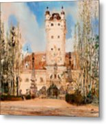 Greillenstein Castle Metal Print
