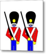 2 Guardsmen Metal Print