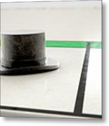 Hat Icon On A Boardgame Metal Print