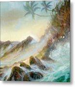 Hawaii Seascape Metal Print
