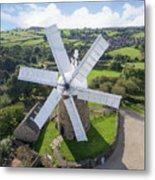 Heage Windmill Metal Print