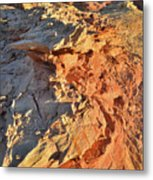 High Above Wash 3 In Valley Of Fire Metal Print
