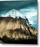 Holy Kailas East Slop Himalayas Tibet Yantra.lv Metal Print