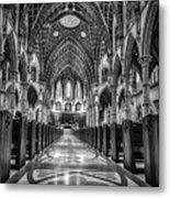 Holy Name Cathedral Metal Print