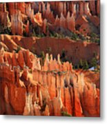 Hoodoos Of Sunset Point In Bryce Canyon Metal Print