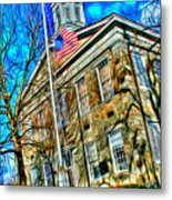Howard County Courthouse Metal Print
