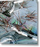 2. Ice Prismatics 1, Slaley Sand Quarry Metal Print