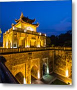 Imperial Citadel Of Hanoi Metal Print