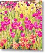 Impressionist Floral Xvi Metal Print