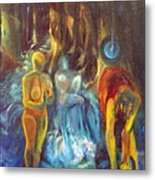 In The Name Of The Mother Sister Daughter Metal Print
