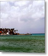 Island Harbor Metal Print