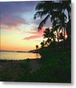 Island Sunset Metal Print