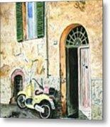 Italian Alley Metal Print