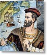 Jacques Cartier (1491-1557) Metal Print
