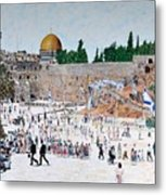 Jerusalem Day Metal Print