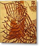 Jesus Christ - Tile Metal Print