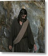 Jesus Christ- Rise And Walk With Me  Metal Print