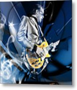 Joe Bonamassa Blues Guitarist Art Metal Print